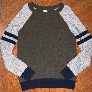 J. Crew woman's sweater shirt size large euc